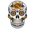 Day of the Dead Skulls tattoo voorbeeld Day of the Dead Skull 29