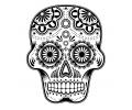 Day of the Dead Skulls tattoo voorbeeld Day of the Dead Skull 30