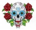 Day of the Dead Skulls tattoo voorbeeld Day of the Dead Skull 31