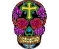 Day of the Dead Skulls tattoo voorbeeld Day of the Dead Skull 32