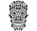 Day of the Dead Skulls tattoo voorbeeld Day of the Dead Skull 4