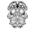 Day of the Dead Skulls tattoo voorbeeld Day of the Dead Skull 5