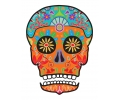 Day of the Dead Skulls tattoo voorbeeld Day of the Dead Skull 7