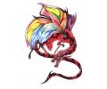 Draken tattoo voorbeeld Draak 2