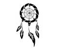 Dreamcatchers / Dromenvangers tattoo voorbeeld Dreamcatcher 10