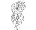 Dreamcatchers / Dromenvangers tattoo voorbeeld Dreamcatcher 16