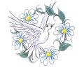 Duiven tattoo voorbeeld Duif 3