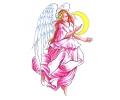Engelen tattoo voorbeeld Engel 3