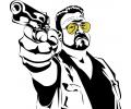 Hollywood tattoo voorbeeld Walter (The Big Lebowski)