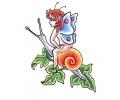 Feeën / Elfen tattoo voorbeeld Fee 5