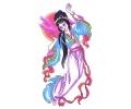 Japans tattoo voorbeeld Geisha 1