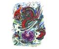 Draken tattoo voorbeeld Groene Draak