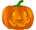 Halloween tattoo voorbeeld Pompoen