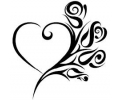 Pols Tattoo - Hartjes tattoo voorbeeld Hartje 2