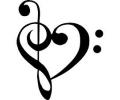 Pols Tattoo - Hartjes tattoo voorbeeld Hartje Muziek