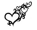 Pols Tattoo - Hartjes tattoo voorbeeld Hartjes