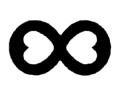 Hartjes tattoo voorbeeld Infinite Love