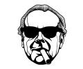 Hollywood tattoo voorbeeld Jack Nicholson 2