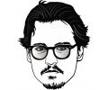 Hollywood tattoo voorbeeld Johnny Depp