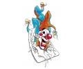 Evil Clowns tattoo voorbeeld Joker 1