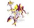 Evil Clowns tattoo voorbeeld Joker 2