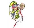 Evil Clowns tattoo voorbeeld Joker 3