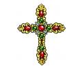 Religieus/Spiritueel tattoo voorbeeld Kruis 1