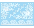 Witte Kanten Tattoos tattoo voorbeeld Lace (Kant) Tattoo Set Wit 013 15 x 21 cm