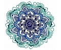 Mandala tattoo voorbeeld Mandala 12