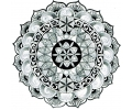 Mandala tattoo voorbeeld Mandala 5