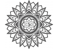 Mandala tattoo voorbeeld Mandala 7