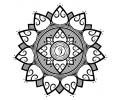Mandala tattoo voorbeeld Mandala 8