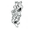 DMS tattoo voorbeeld DMS 2