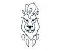 Roofdieren tattoo voorbeeld DMS 3