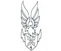 Roofdieren tattoo voorbeeld DMS 4