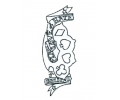 DMS tattoo voorbeeld DMS 7