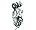 Roofdieren tattoo voorbeeld DMS 17