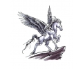 Pegasus tattoo voorbeeld Pegasus 2