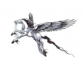 Pegasus tattoo voorbeeld Pegasus