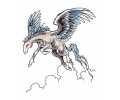 Pegasus tattoo voorbeeld Pegasus 4