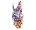 Pegasus tattoo voorbeeld Pegasus 8