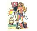 Piraten tattoo voorbeeld Piraat 4