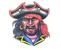 Piraten tattoo voorbeeld Piraat 5