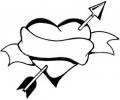 Pols Tattoo - Hartjes tattoo voorbeeld Polstattoo Hartje 3