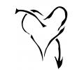 Pols Tattoo - Hartjes tattoo voorbeeld Polstattoo Hartje 5