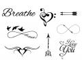 Pols Tattoo - Combi Sets tattoo voorbeeld Pols Tattoo Combi Set 2