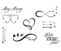 Pols Tattoo - Combi Sets tattoo voorbeeld Pols Tattoo Combi Set 4
