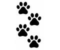Overige dieren tattoo voorbeeld Pootjes