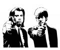 Hollywood tattoo voorbeeld Pulp Fiction 1