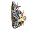 Skulls Kleur tattoo voorbeeld Reaper 6
